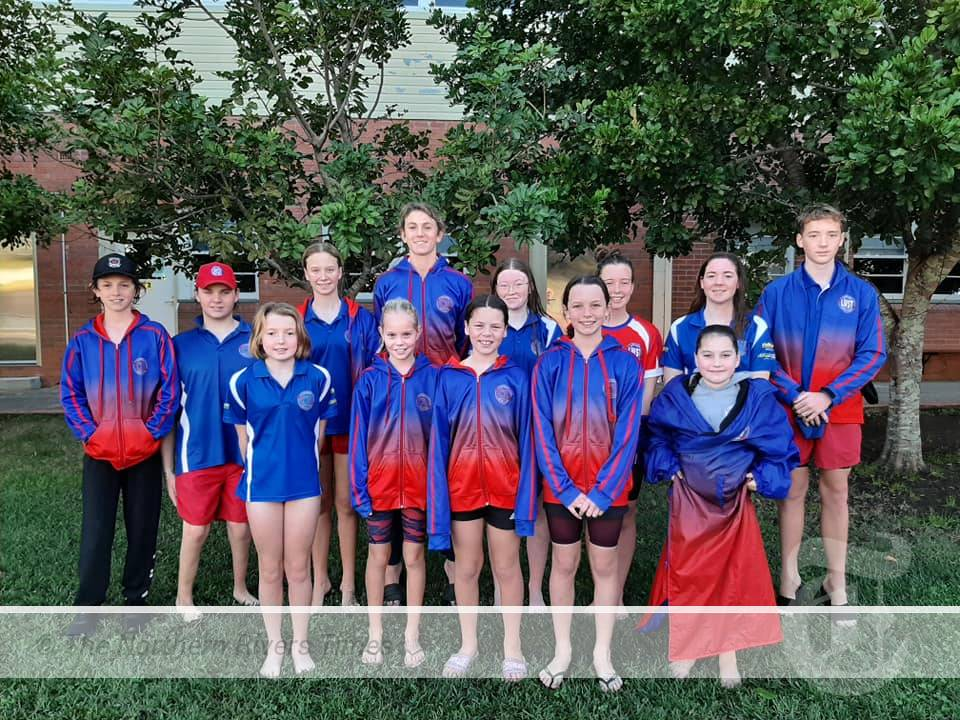 THE Lismore Workers Swim Team