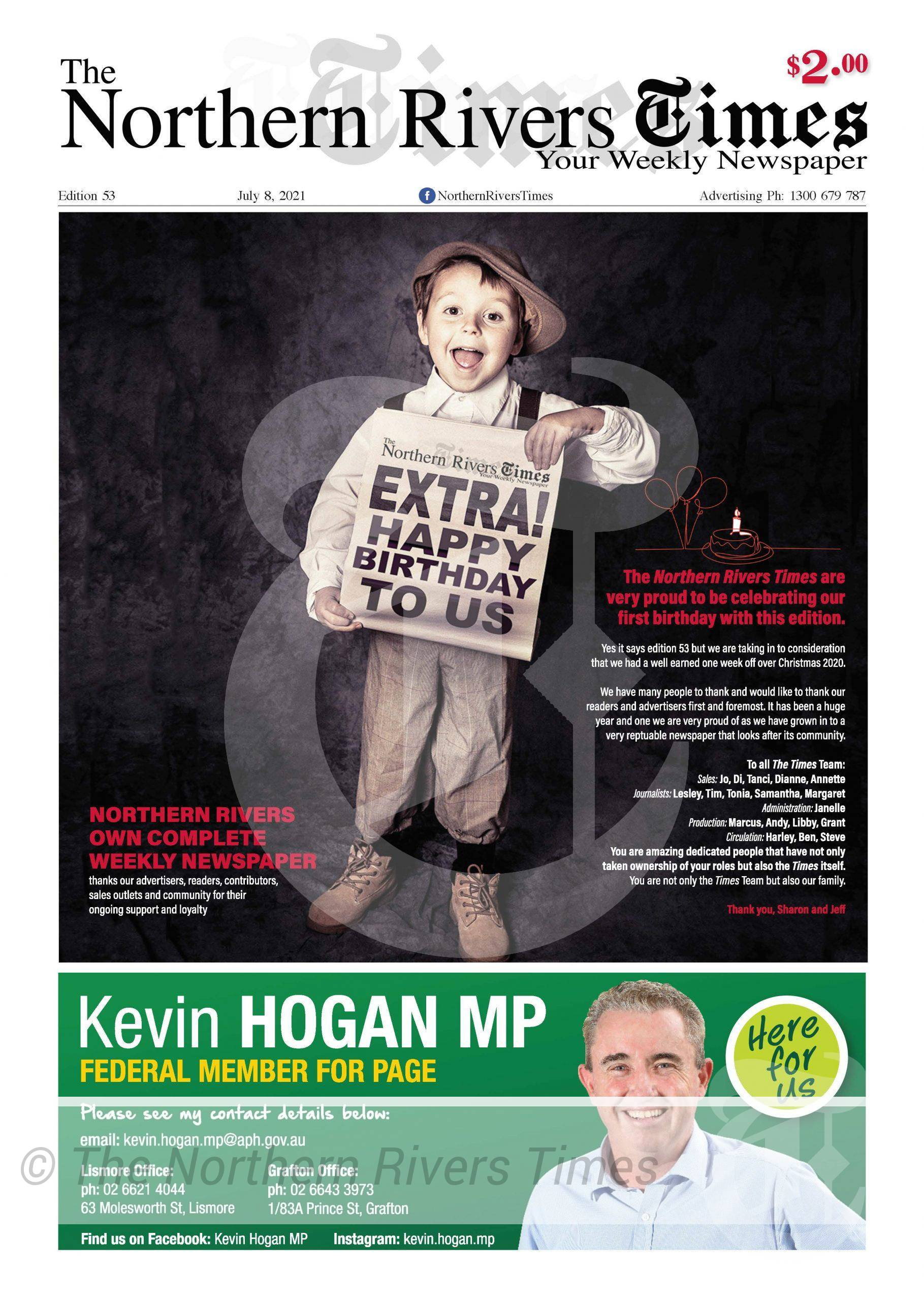 The Northern Rivers Times