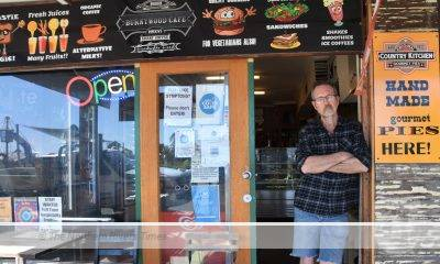 Alex Clark, owner of two businesses was hit with a $17,500 tax bill for Jobkeeper.