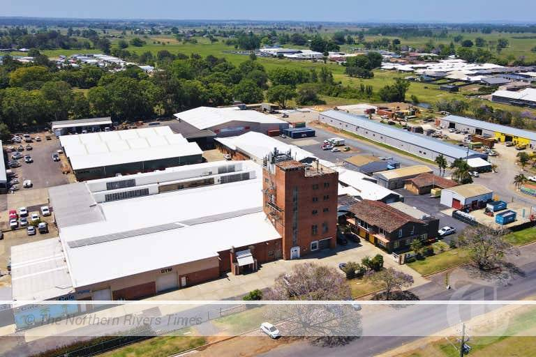 Grafton brewery industrial complex in North St, Grafton