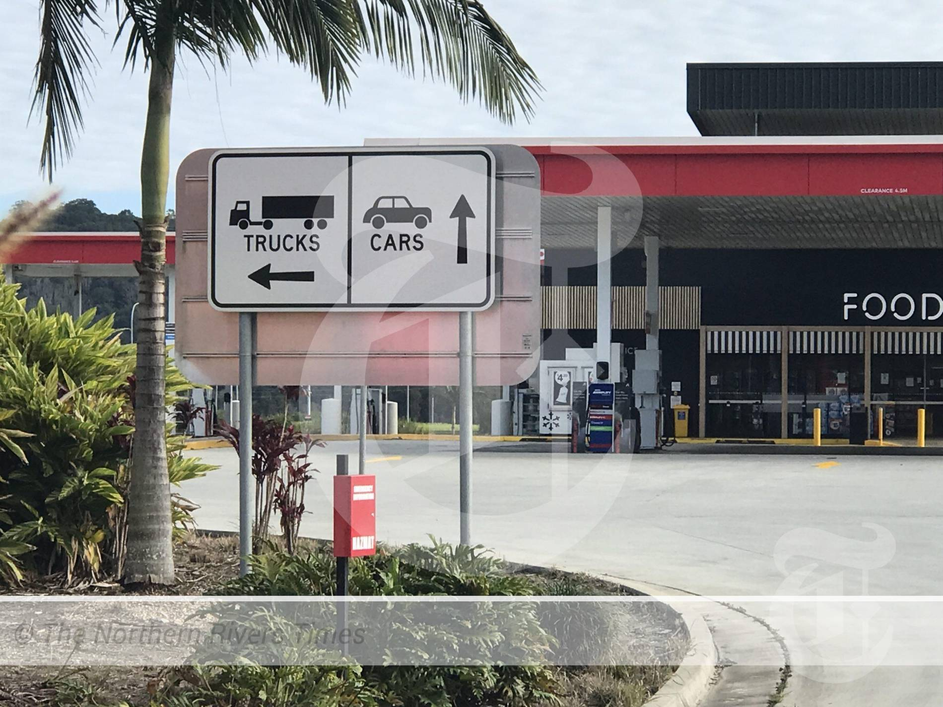 two COVID-19 positive cases detected at the Ampol Northbound Service Station at Chinderah last week were not truck drivers as widely assumed