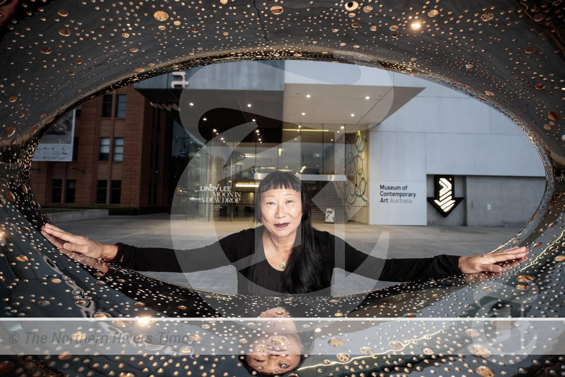 MCA presents national exhibition tour of Australian Chinese Artist Lindy Lee at Lismore Regional Gallery.
