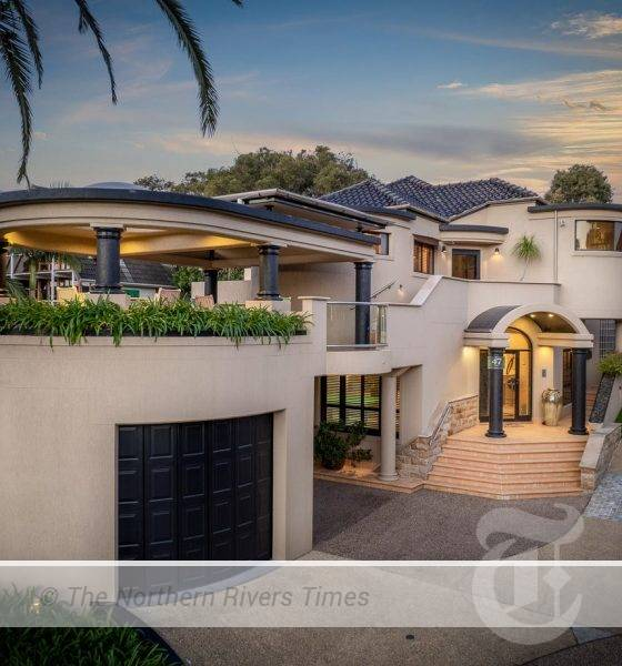 47 Ocean Drive, Evans Head went under the online hammer for $3.685m. Photo: First National Real Estate Evans Head